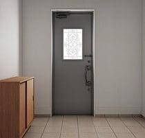 腰窓 玄関ドア 写真