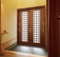 引戸タイプ 玄関ドア 写真