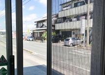 店舗・事務所用網戸 写真1