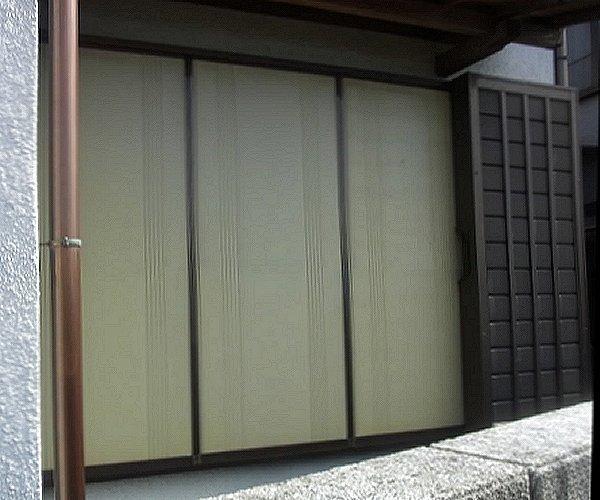 雨戸リフォーム【前】