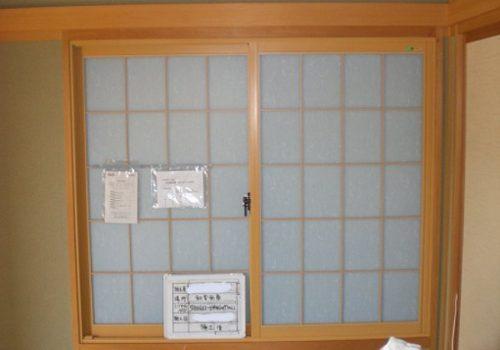 和室の窓の結露対策 ! 障子のような内窓リフォーム