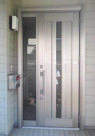 浜松市での玄関ドアリフォーム【後】