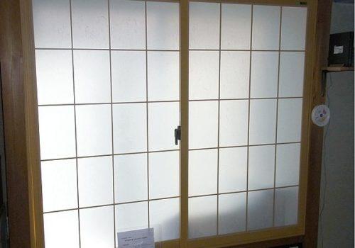 和室の窓の結露対策 ! まるで障子のような内窓リフォーム