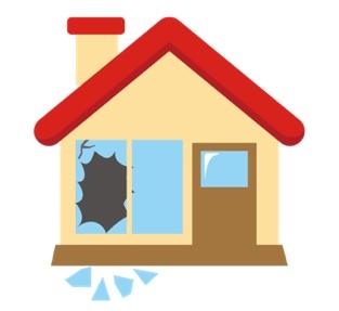侵入盗から窓を守る