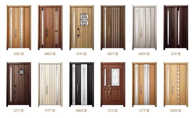 【 玄関ドアリフォーム 】どう選ぶ ? 玄関ドアの種類と特徴