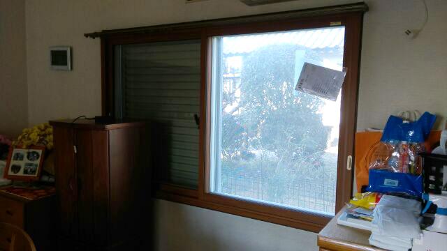 北側に面する窓の内窓リフォーム