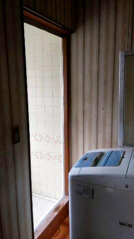 浴室ドアリフォーム【前】