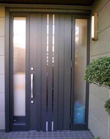 LIXIL玄関ドアリフォーム リシェント
