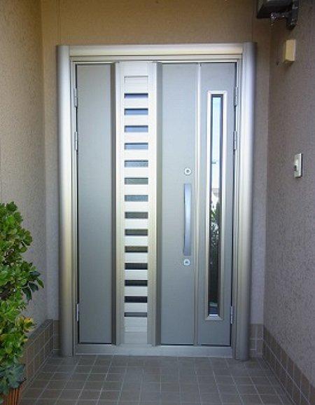 通風・換気ができる玄関ドア
