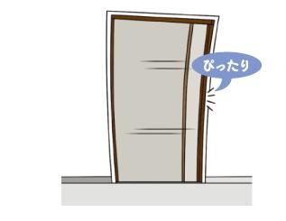 引き戸の玄関にも玄関網戸を後付けできます !