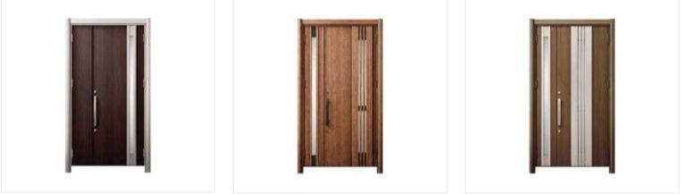 LIXIL玄関ドアリフォーム 開き戸タイプ