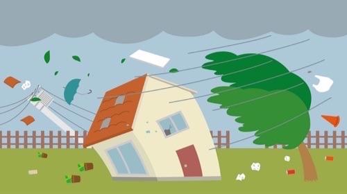 大型台風が来る前に ! 今からしておきたいお住まいの点検チェックポイント