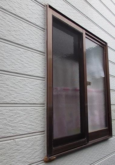 お風呂の窓 目隠し前