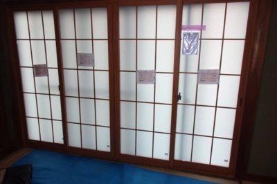 和室が寒い ! 結露が気になる ! 和室に調和した内窓を取付けられます
