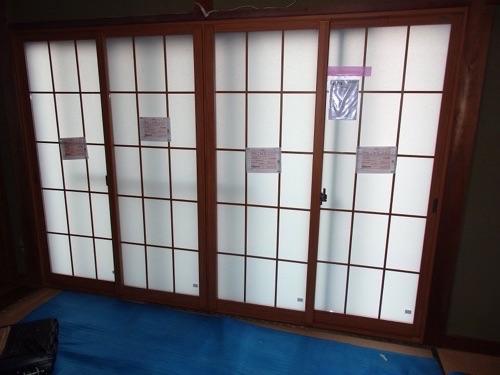 和室に和障子のような内窓リフォーム