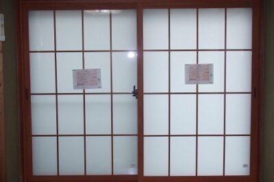 見た目変わらず、和室の障子を内窓に交換