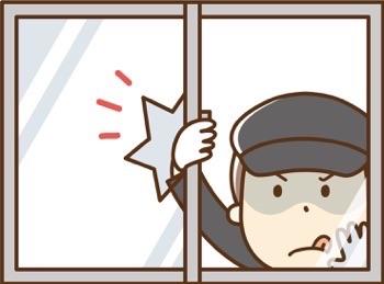 2階の小窓に面格子を後付けして防犯対策