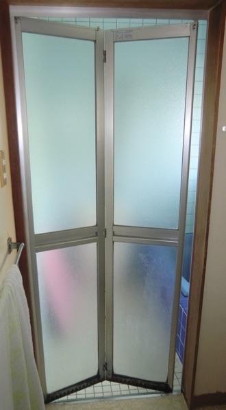 浴室ドアの交換リフォーム 壁工事は必要ありません