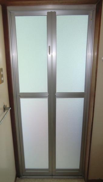 浴室ドア交換リフォーム