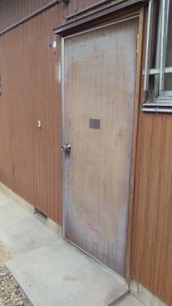 【Before】勝手口ドア交換リフォーム