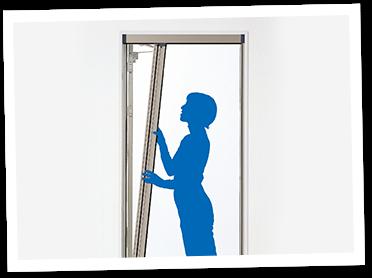 玄関網戸は取り外しが可能な種類もあります