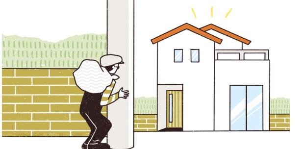 窓の空き巣対策