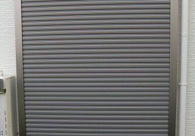 窓の防犯対策・台風対策 後付けシャッター