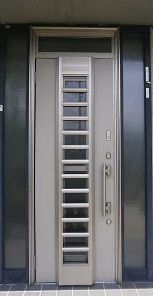 採風ドアへ 玄関ドアリフォーム